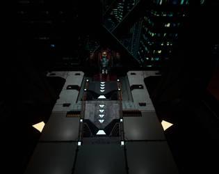 Sci fi Ramp by vLine-Designs