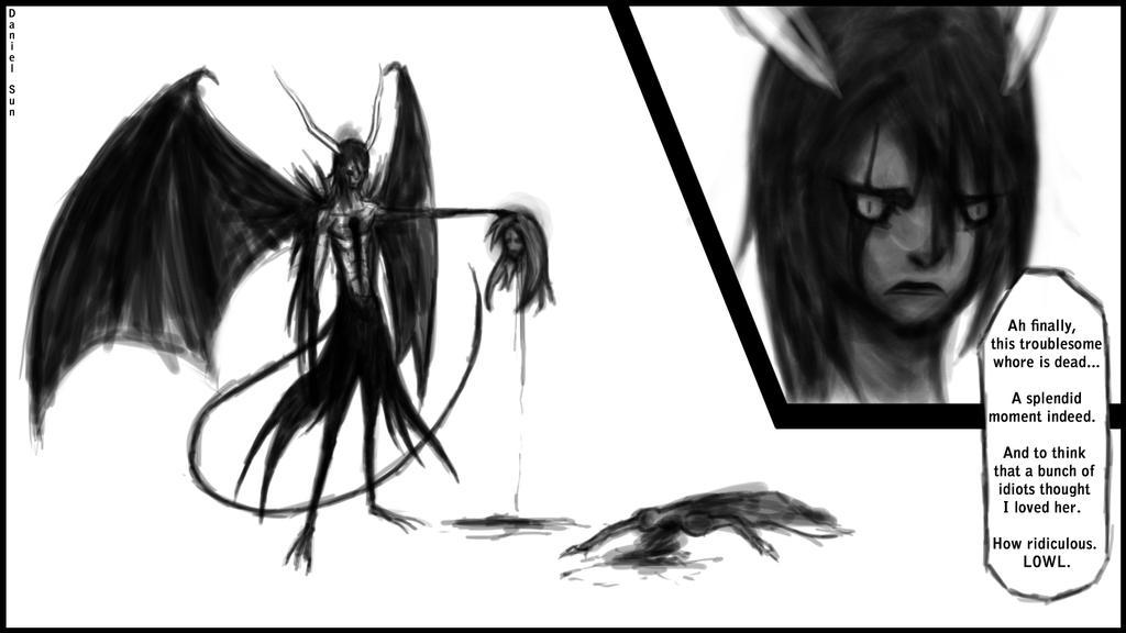 Ulquiorra kills Orihime by D-SuN