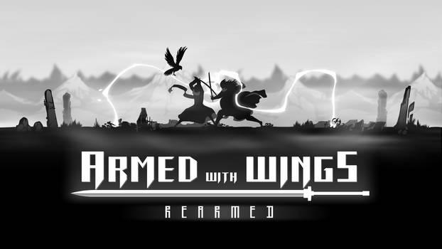 Armed with Wings: Rearmed Key Art by D-SuN