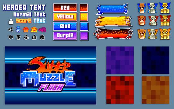 Super Muzzle Flash UI Elements by D-SuN