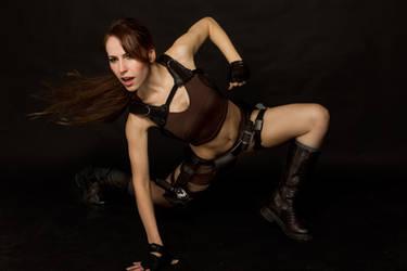 Lara Croft Tomb Raider Underworld Djungle shorts by milla-s