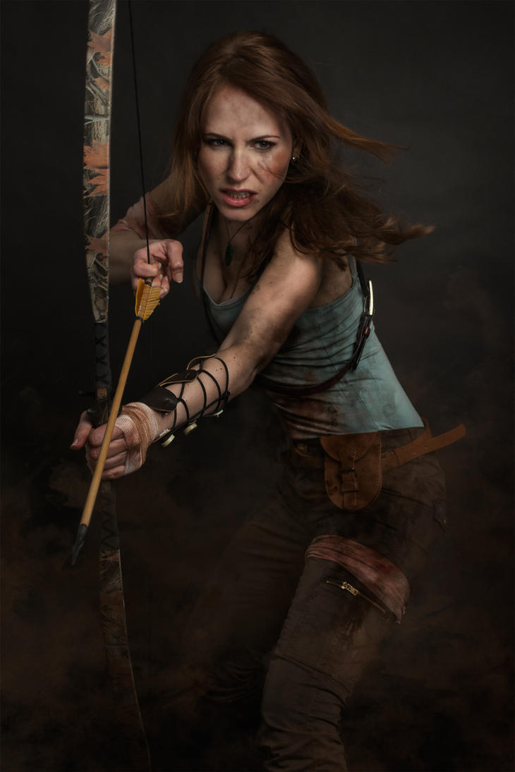 A Survivor Is Born - Tomb Raider 2013 - Lara Croft by milla-s