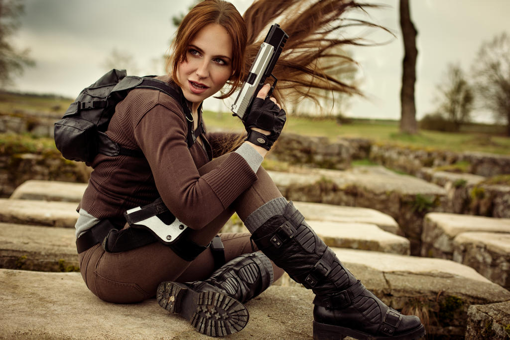 The Rise Of The Tomb Raider by Milla by milla-s on DeviantArt