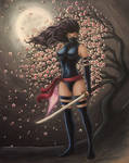 Psylocke - The Silent Assassin by TypeSly