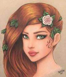 Poison Ivy - Portrait