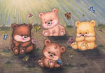 Bears And Butterflies by TypeSly