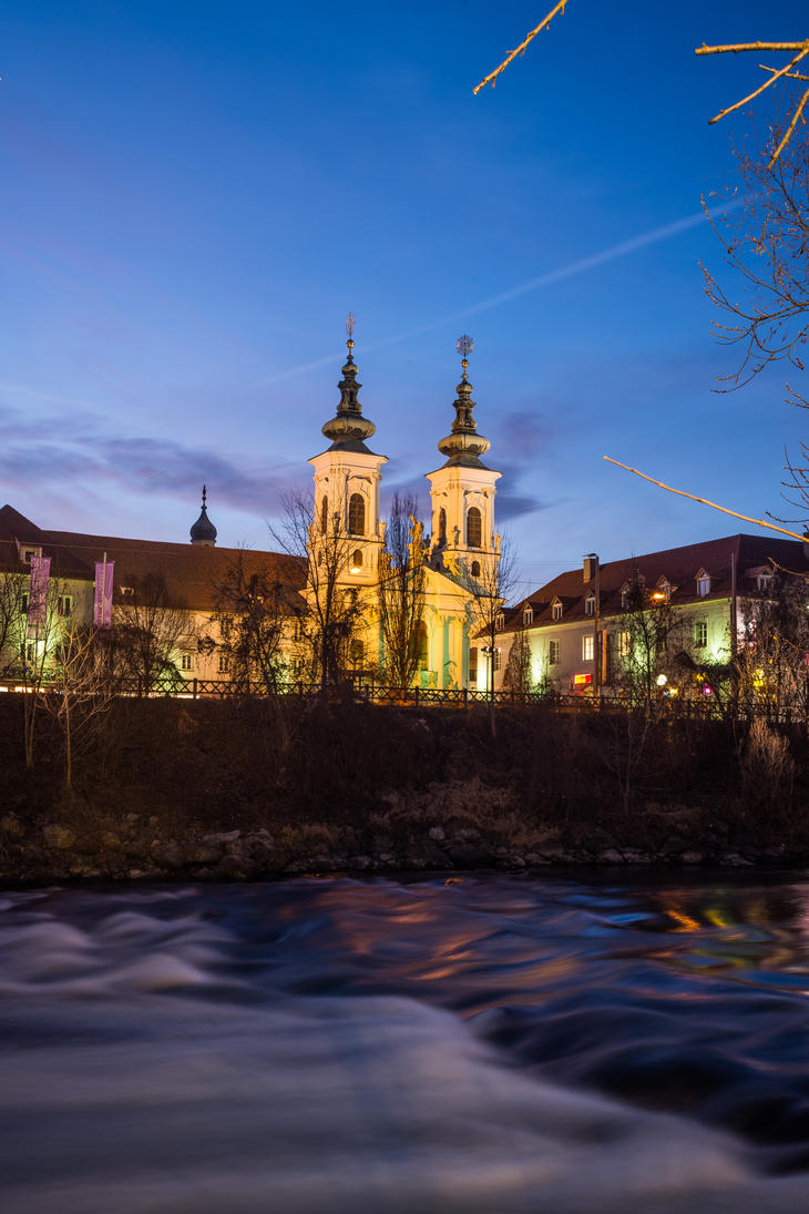 Mariahilfer Church by StefanJanisch