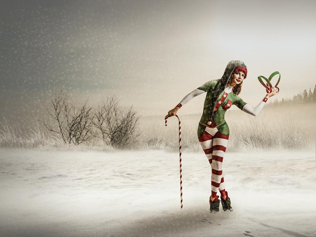 Christmas Elf by SuicideOmen