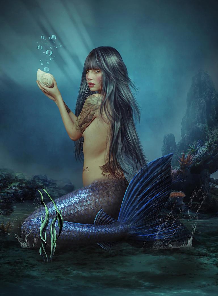 Mermaid by SuicideOmen