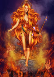 Goddess of Fire by SuicideOmen