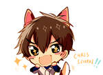LOOK SAWAMURA ITS CHRIS-SENPAI!!