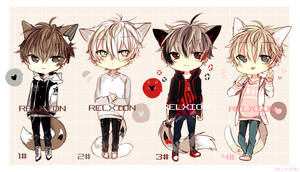 [CLOSED] LineHeart Adopt*10 by Relxion-kun