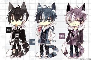 [AUCTION*CLOSED]Lineheart*36 [MAFIA] by Relxion-kun