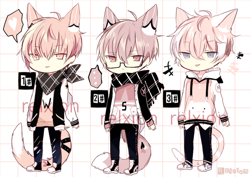 [AUCTION*CLOSED]Lineheart*50 by Relxion-kun