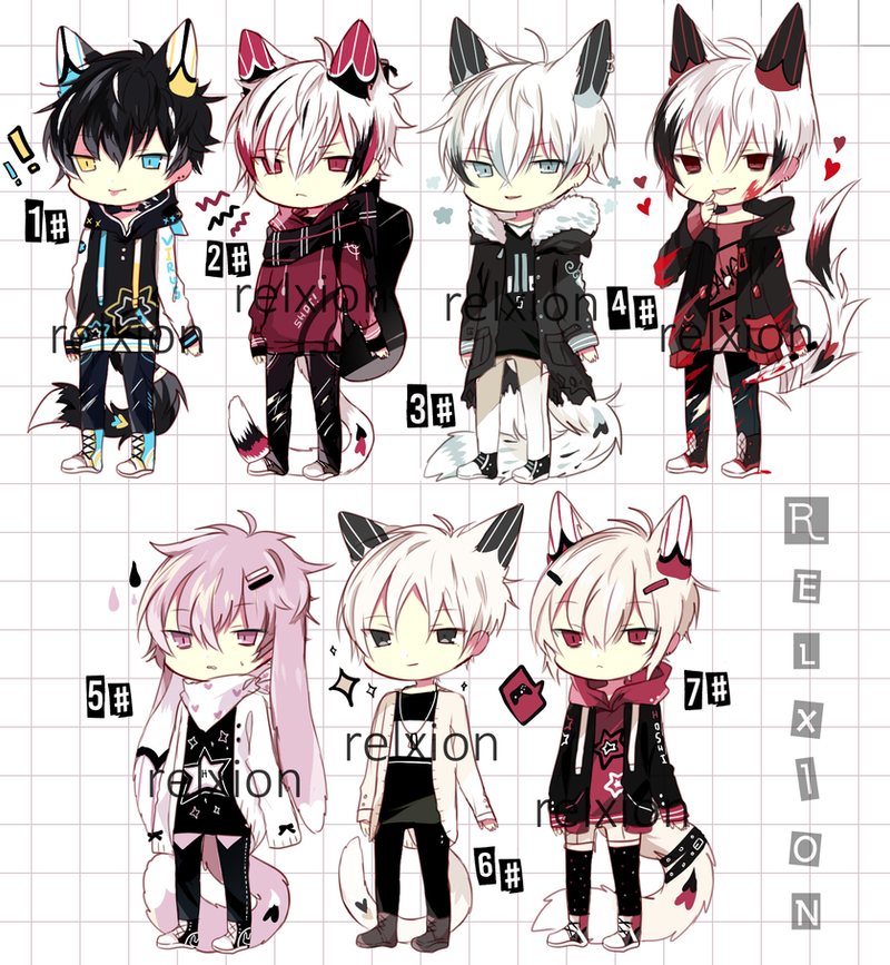 [AUCTION*CLOSED]Lineheart*52 by Relxion-kun
