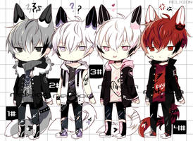 [SETPRICE*CLOSED]Lineheart*3 by Relxion-kun