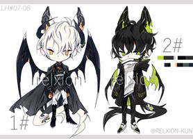 [AUCTION*CLOSED]Lineheart*07-08 by Relxion-kun