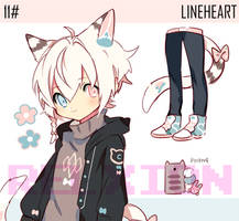[AUCTION*CLOSED]Lineheart*11 by Relxion-kun
