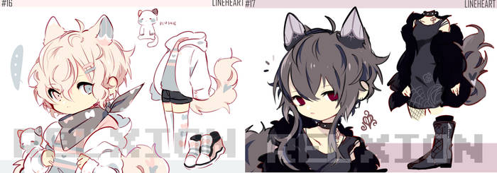 [AUCTION*CLOSED]Lineheart*16-17