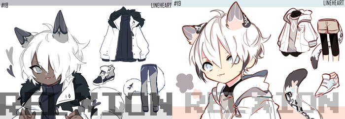 [AUCTION*CLOSED]Lineheart*18-19