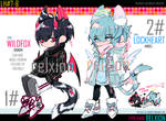 [AUCTION*CLOSED] Lineheart*07-08 WILDFOX/LOCKHEART by Relxion-kun