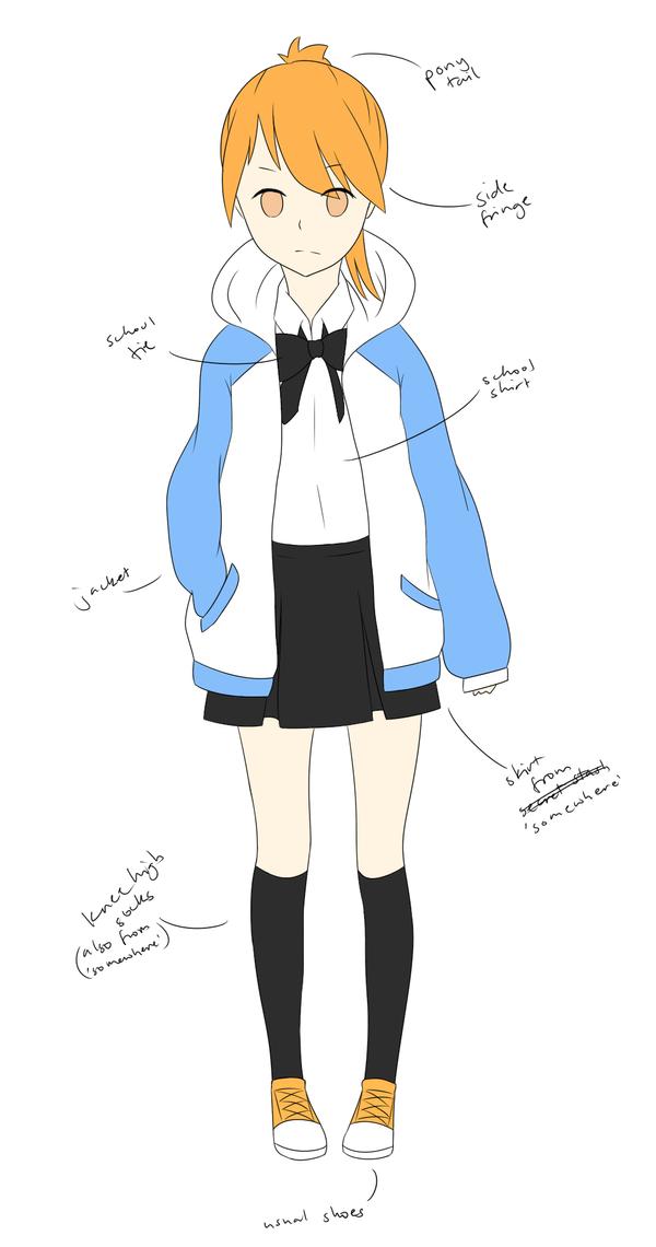 Ao-chan genderbent by Vongolaa