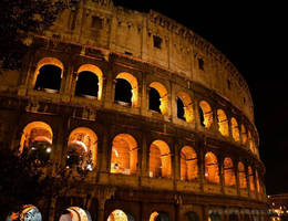 The colosseum, Rome, Italy!