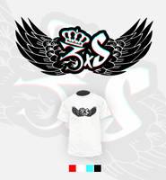 3xS [Sieraka Street Squad] T-Shirt Design by JestemEjmi