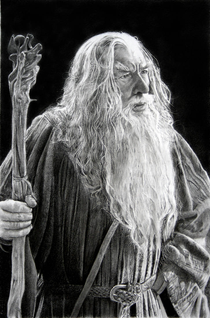 Gandalf by francoclun