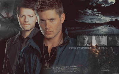 Dean Wants His Brother Back by bennixalice