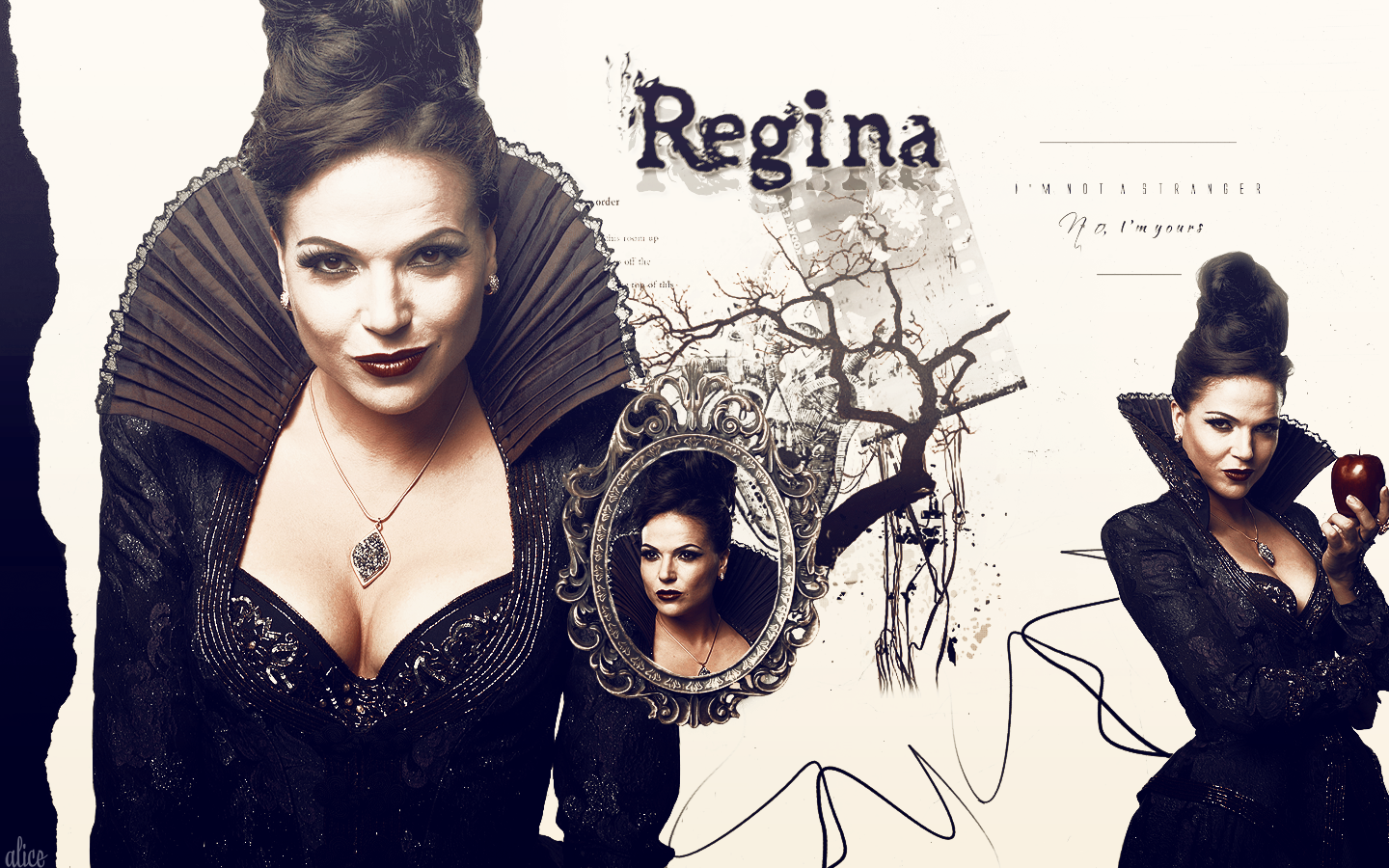 Regina Wallpaper by bennixalice Regina Wallpaper by bennixalice