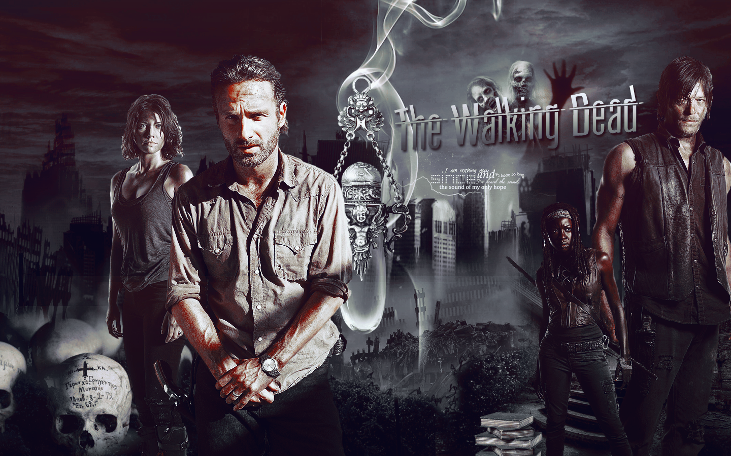 The Walking Dead Wallpaper By Bennixalice On Deviantart