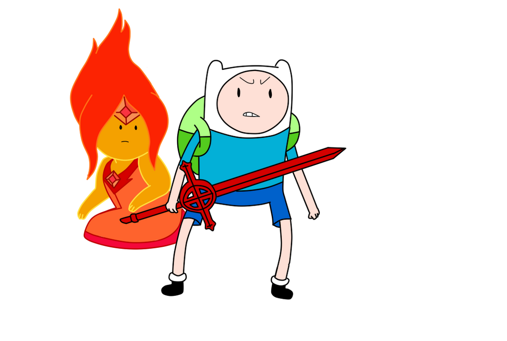 Adventure time  Flame ...
