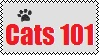 Cats101 Stamp by Tsiki10