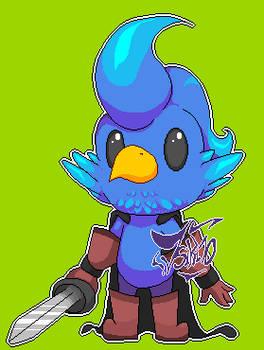 Level 60 Warrior Parrot
