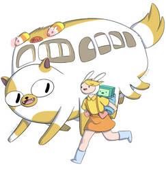 Satsuki, Mei, and the Catbus