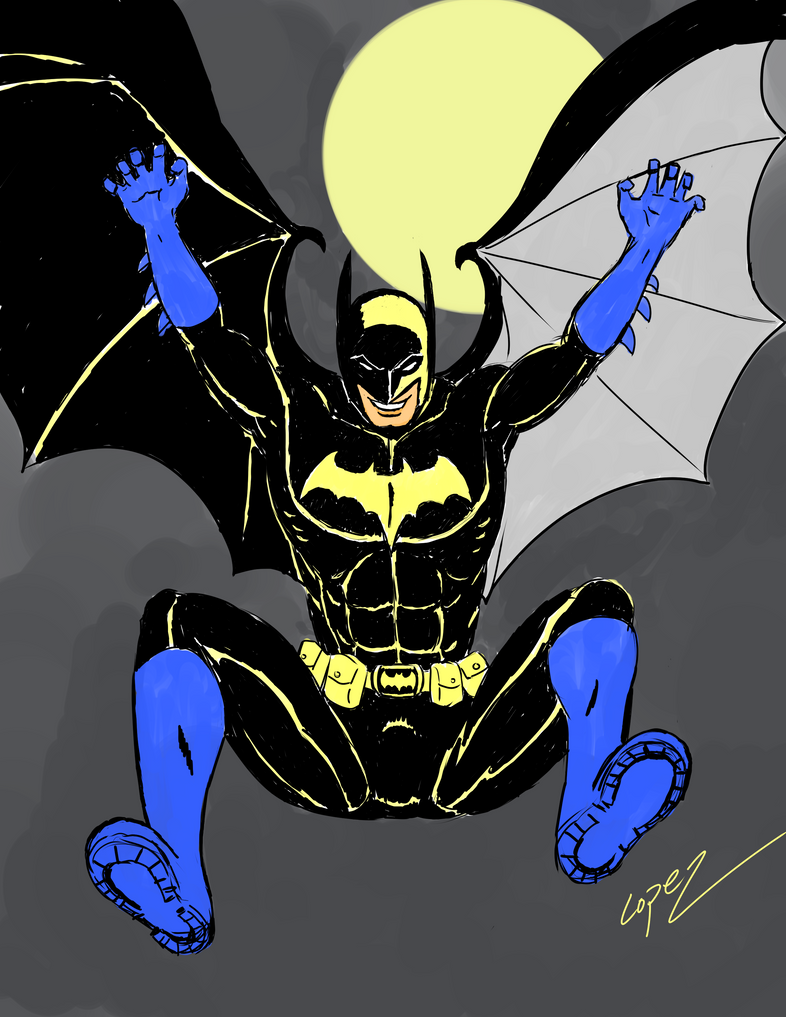 Batman Day by Robsojourn