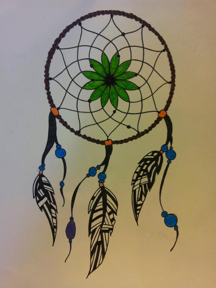 Dream Catcher Drawing by  Dream Catcher Drawing Ideas