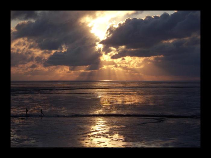 Sunset - North Sea