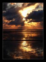 Golden sunset by vanHardenbrook