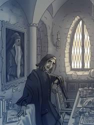 Headmaster Snape by Harry-Potter-Spain
