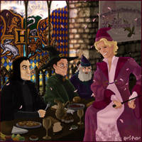 St. Valentine's at Hogwarts by Harry-Potter-Spain