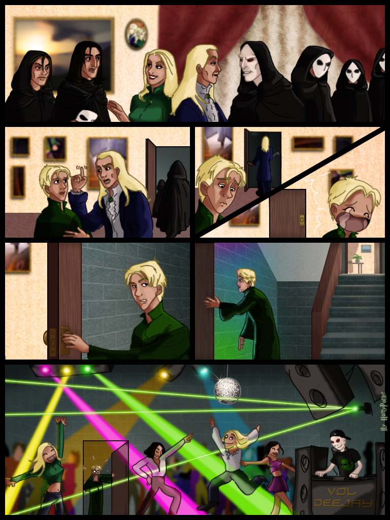 De Meeting At The Malfoy S By Harry Potter Spain On Deviantart