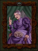 Mrs. Black's Portrait by Harry-Potter-Spain