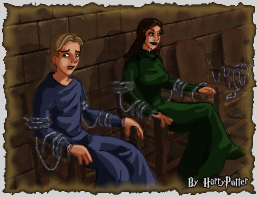 Bellatrix and Crouch Jr. trial by Harry-Potter-Spain