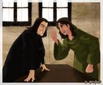 Sirius and Snape at 12 GP