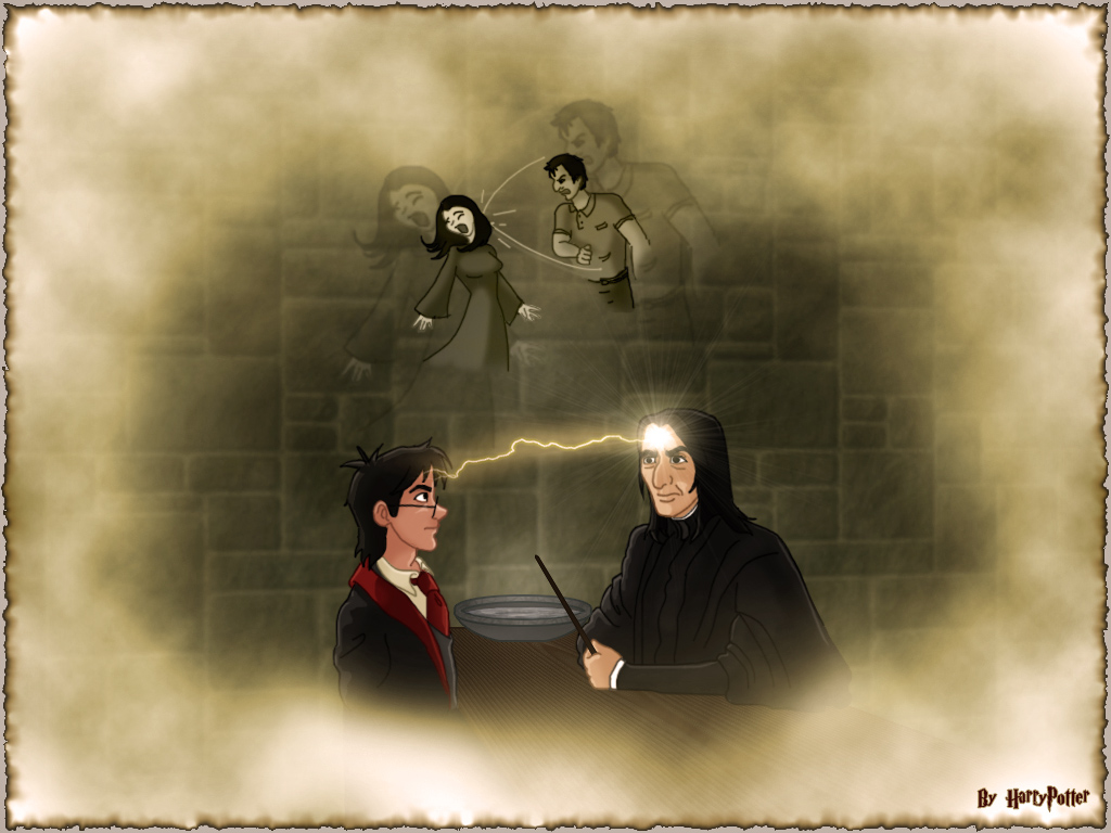 Occlumency Class With Snape By Harry Potter Spain On Deviantart