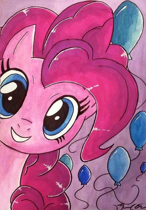 Pinkie Pie by CelestPapermoon
