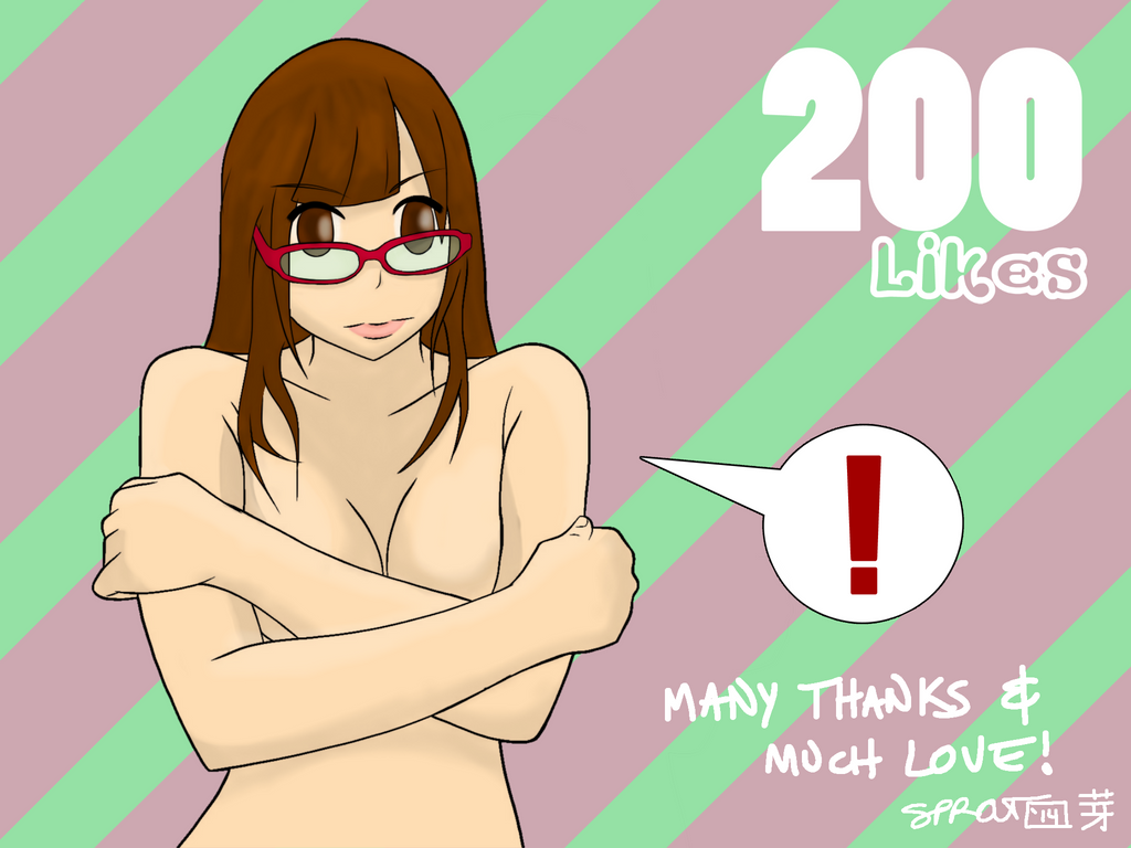 200 Likes by atomiksprout