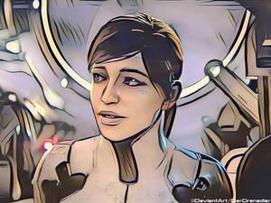Sara Ryder in Pop Art [ME:A]
